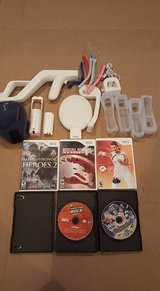 WII GAMES AND ACCESSORIES in Clarksville, Tennessee
