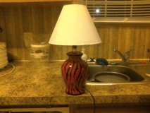 Lamp and shade in Clarksville, Tennessee