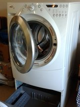 Whirlpool Front Loading Washer with Pedestal...Immaculate (no dents, dings or rust) in Tomball, Texas