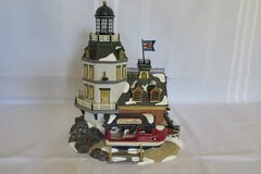 Dept 56 Snow Village CANDLEROCK LIGHTHOUSE RESTAURANT in San Clemente, California