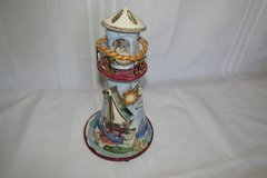 "HEATHER GOLDMINC BLUE SKY CLAYWORKS LIGHTHOUSE ""SET SAIL TO YOUR DREAMS"" in San Clemente, California"