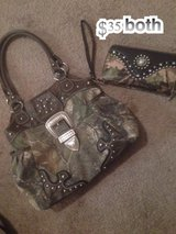 camo purse and wallet in Conroe, Texas