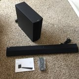 Sony HT-CT370, 2.1 channel sound bar with Subwoofer, like new condition in Fort Riley, Kansas