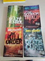 James Dasher the maze runner series 4 books in Chicago, Illinois