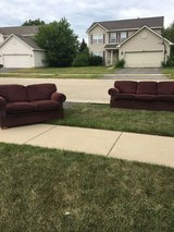 Love seat and Sofa in Chicago, Illinois