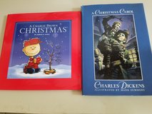 Charles Dickenson A Christmas Carol and a Charlie Brown Christmas books in Chicago, Illinois