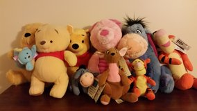 Winnie-the-Pooh and Friends Stuff Animals. in Lake Charles, Louisiana
