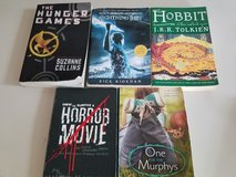Teen lot of books the hunger games , lightning thief, the hobbit in Chicago, Illinois