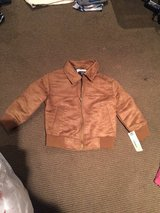 4t faux suede bomber jacket in Schaumburg, Illinois