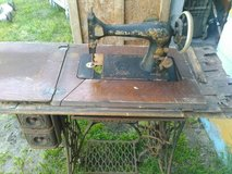 Antique Sewing machine with table in Lumberton, North Carolina