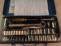 Brand New: 3 left- 40 Piece MAXAM Industrial Socket Wrench Set: Metric & Inch- 3: sets left in Fort Campbell, Kentucky