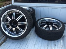 5x4.5 chevy wheels 18 inch in Fort Carson, Colorado