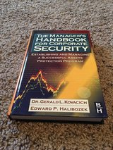 The Manager's Handbook For Corporate Security - by Kovacich and Halibozek in Lawton, Oklahoma