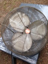 Shop fan in Macon, Georgia
