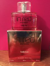 IN RED POUR HOMME-Men's Fragrance by Estelle Ewen - One full 34oz bottle + 2nd bottle 3/4 full in Fort Campbell, Kentucky