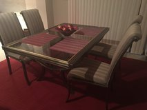 Design Institute of America (DIA) Expandable Table and 6 chairs in Plainfield, Illinois