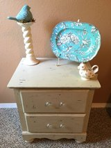 Shabby chic nightstand in Lackland AFB, Texas