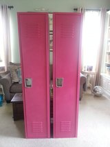 Lockers with loads of shelfs and hooks for storage - paint to customize :) in Naperville, Illinois