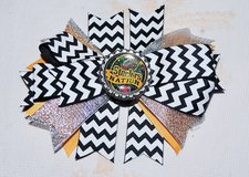 STEELER'S NATION HAIR BOW in Beaufort, South Carolina