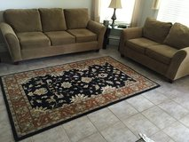 Sofa, love seat and rug in Houston, Texas