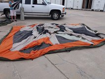 2 tents in Fort Riley, Kansas
