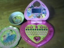 Disney Princess Laptop/dishes in Fort Drum, New York
