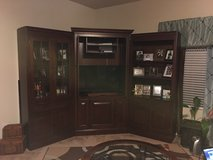 3 piece Entertainment Center (solid wood) in Kingwood, Texas