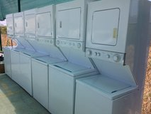 Stackable Washer and Dryer Units in Oceanside, California