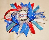 """4th Of July Hair Bow """"American Cutie"""" (Reduced) in Beaufort, South Carolina"""