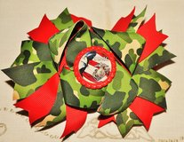 USMC 4TH OF JULY HAIR BOW (REDUCED) in Beaufort, South Carolina