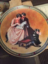 "1985 Norman Rockwell Collectible Plate ""A Couple's Commitment"" with certificate &... in Fort Campbell, Kentucky"
