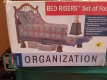 Bed risers in Oswego, Illinois