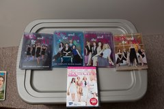 Sex & the City DVDs season 1-4 and movie in Naperville, Illinois