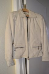 Never Worn 100% Leather Jacket (women's) in Baytown, Texas