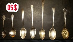 Antique Silver Plate and Sterling Spoons ( 7 total ) in Macon, Georgia