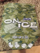 Hefty disposable cooler in Travis AFB, California