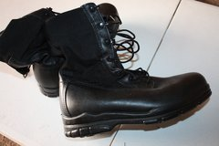 Metal free Safety Black Work Boots (New) in Ramstein, Germany