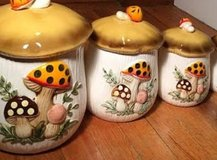 Vintage 1970 canister set in Houston, Texas