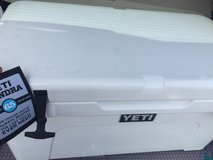 65 YETI Tundra Cooler in White, BRAND NEW in Houston, Texas