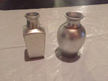 Small Silver Vases in Chicago, Illinois