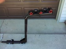 Deluxe Sport 3-Bike Hitch Mount Rack fits 1.25 or 2-Inch Receiver in New Lenox, Illinois