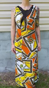 MAXI DRESS WITH SHEER BACK NEW WITH TAGS SIZE LARGE in Camp Lejeune, North Carolina