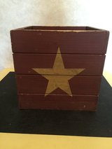 Rustic Wooden Box w/Stars in Chicago, Illinois