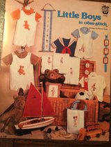 LITTLE BOYS CROSS STITCH in Aurora, Illinois