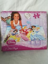 Disney Princess 46pc 3ft floor puzzle in Naperville, Illinois