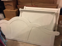 Twin Daybed-white in Conroe, Texas