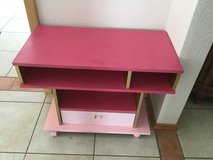 Small tv stand in Lackland AFB, Texas