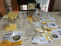 Medela advanced breast pump with all accessories, Medela hand pump, etc in Quantico, Virginia
