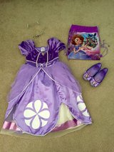 Disney Sophia the First Costume Dress Shoes Set in Joliet, Illinois