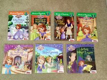 Disney Sophia the First Lot of 7 Books in Lockport, Illinois